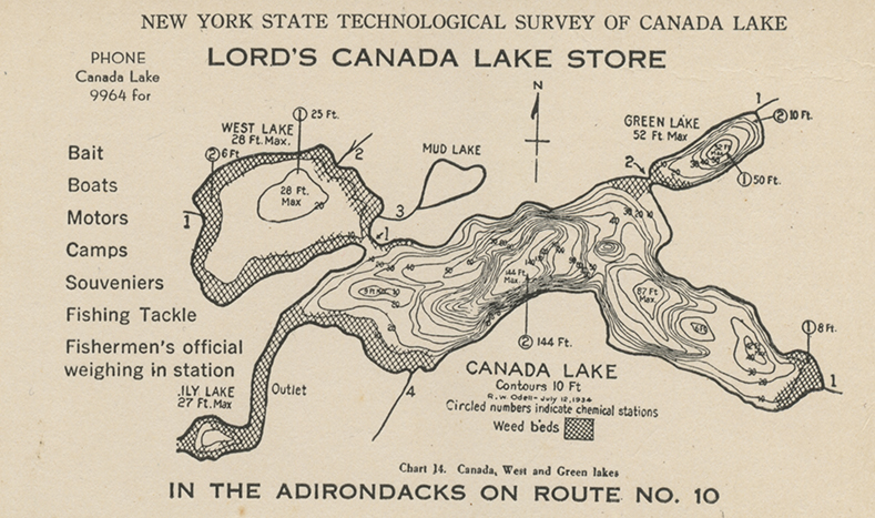 Historical Lake Maps – Canada Lakes Conservation Association